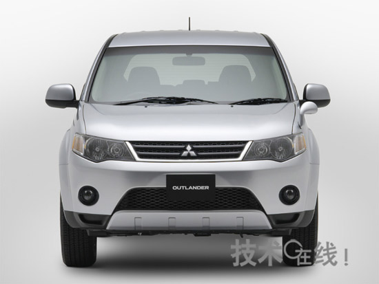 三菱汽车10月17日即将上市SUV欧蓝德高清图片