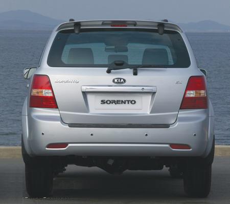 韩国起亚旗舰SUV07款索兰托即将登陆中国高清图片