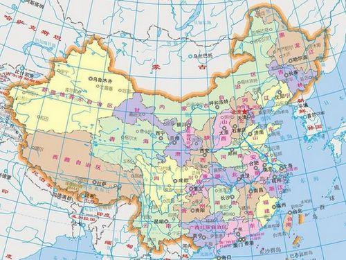 陆地领土包括中国大陆及其沿海