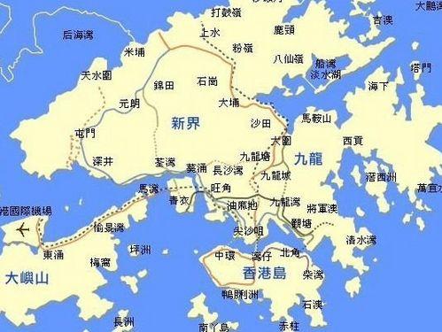 在中国广东省珠江口以东
