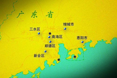 山东省县市地图