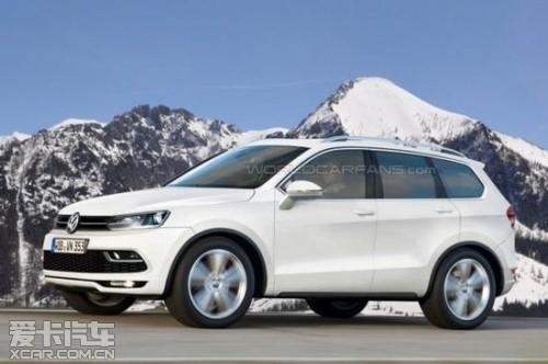 特律车展发布 大众7座SUV基于MQB打造高清图片