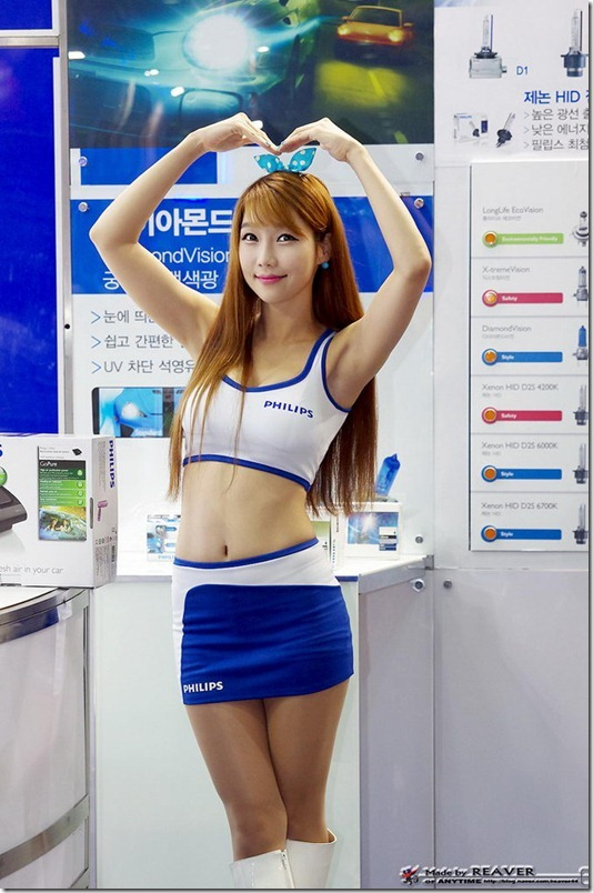2012韩国首尔车展车模秀