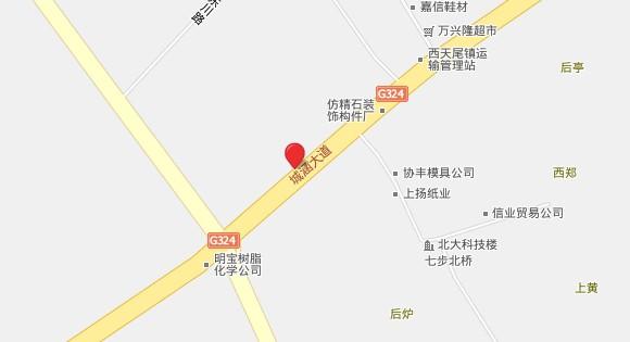 莆田荔城区地图